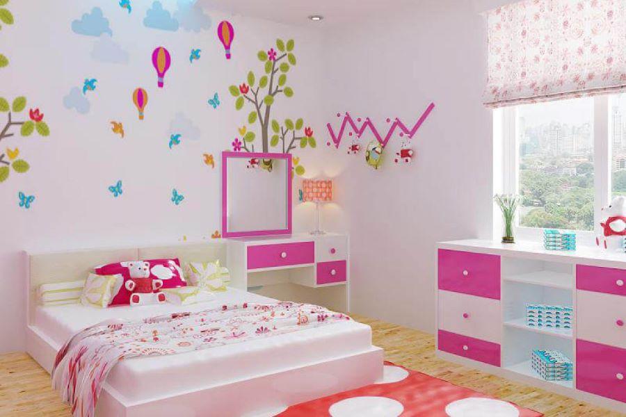 10 cách trang trí phòng ngủ của trẻ em