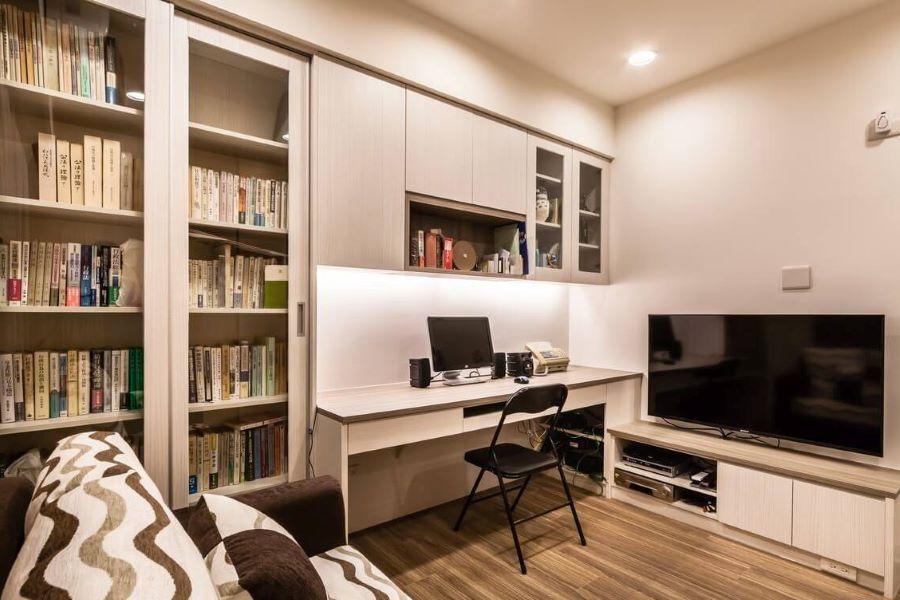 thiết kế phòng làm việc tại nhà đẹp