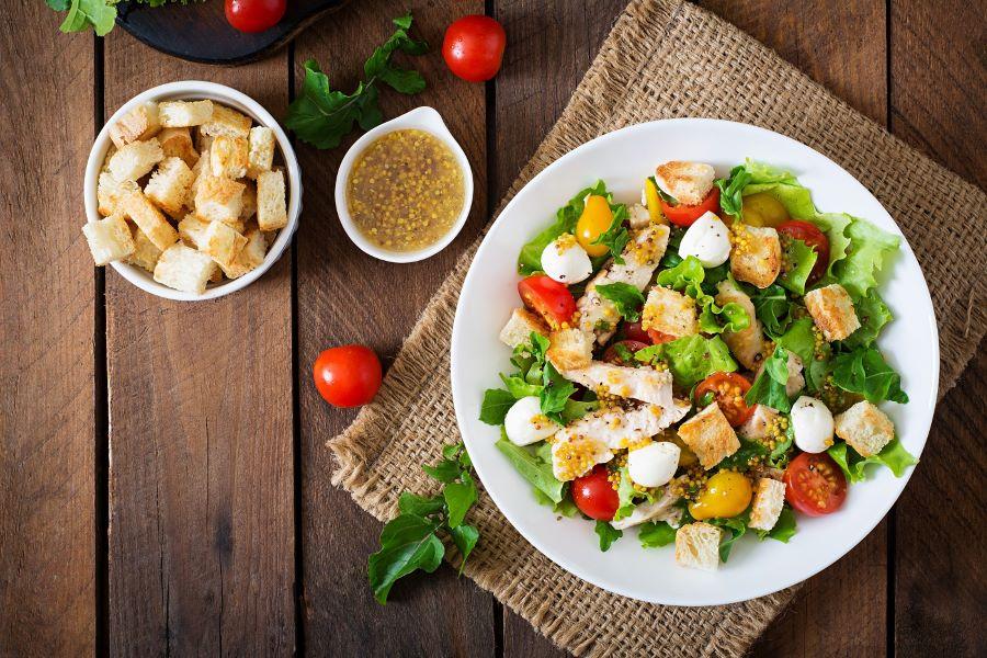 cách làm món salad đơn giản