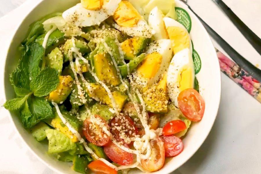 cách làm salad đơn giản